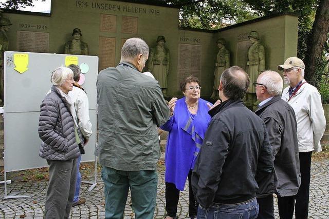 Geteilte Meinungen zum Denkmal