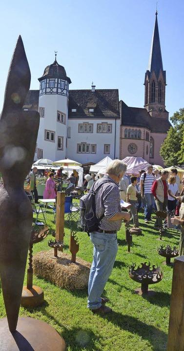 Viel geboten: Künstlermarkt in Emmendingen   | Foto: Marius Alexander