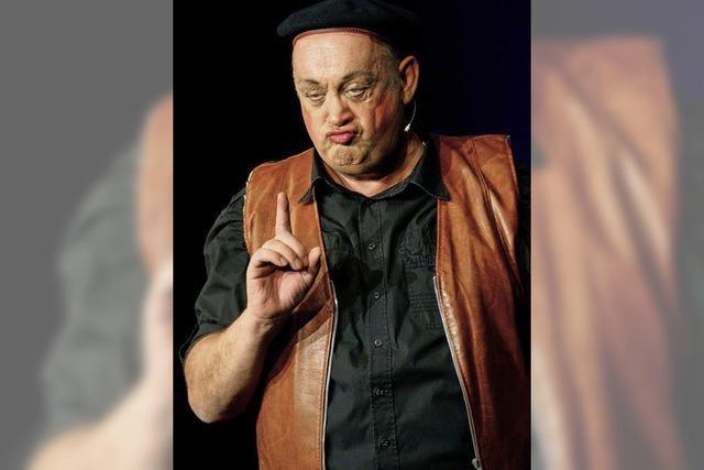 Der Kabarettist Jean-Marie Arrus kommt nach Village-Neuf