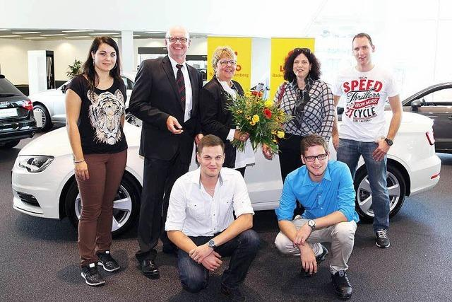 Audi-Cabrio für Emmendingerin