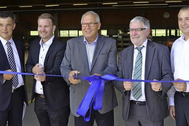 WST eröffnet Werk in Hüfingen
