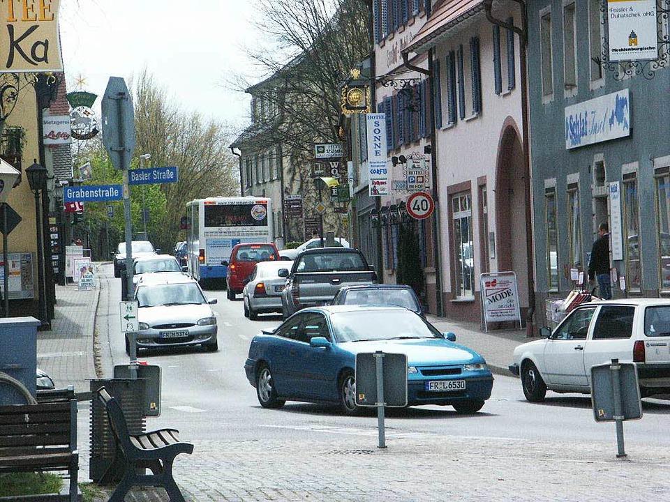 Diese Szenerie gehört zum Glück der Ve...chfahrt, aufgenommen im Frühjahr 2004.    Foto: Markus Donner
