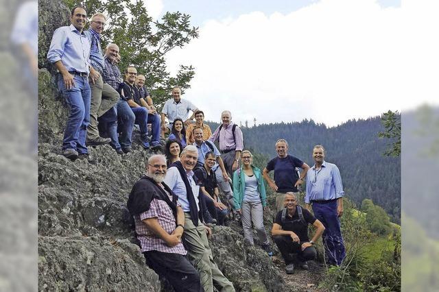 Politiker trommeln fürs Wandern in der Ortenau