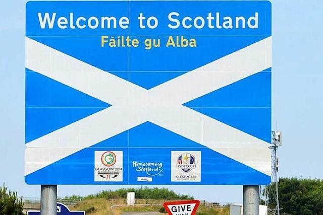 Referendum: EU blickt besorgt nach Schottland