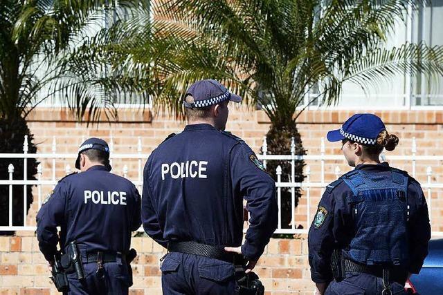 Australiens Polizei vereitelt Anschläge radikaler Islamisten