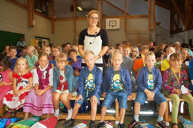 Erster Schultag nicht nur für die Kinder