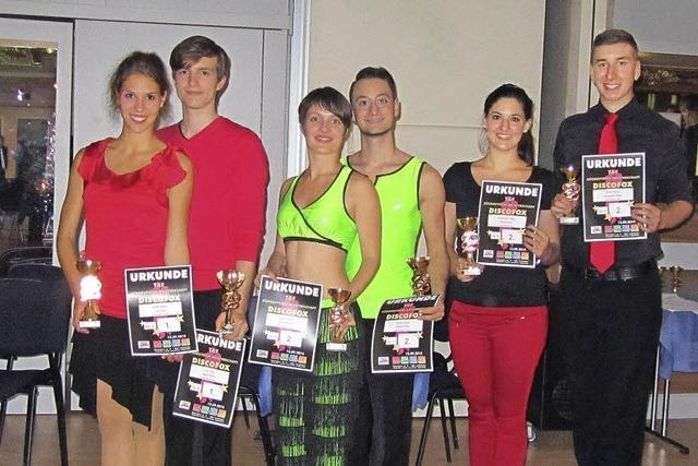 Meisterhafte Tänzer aus Waldkirch