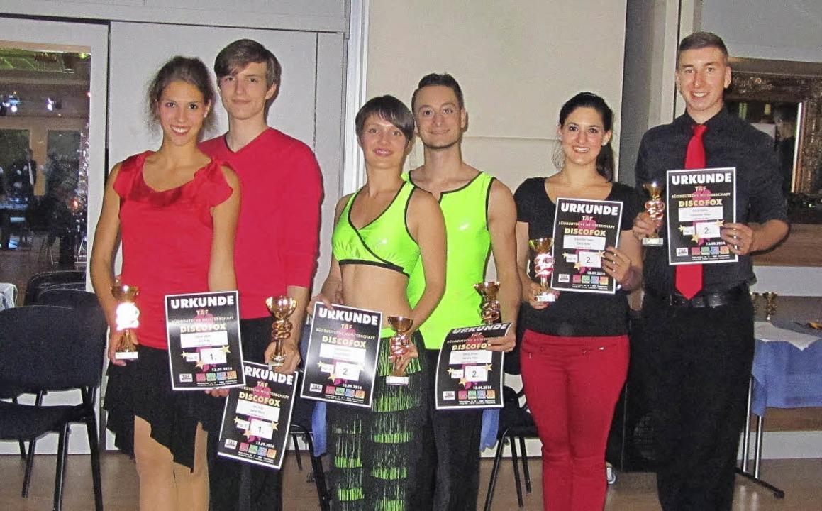 Die Tänzer von links: Sarah Mohr, Jan ...as, Elizia Stratz und Alexander Hepp.     Foto: zvg