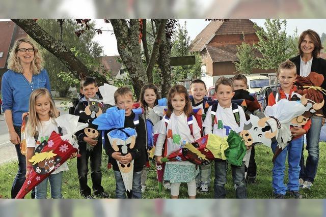 Erster Schultag in Birkendorf