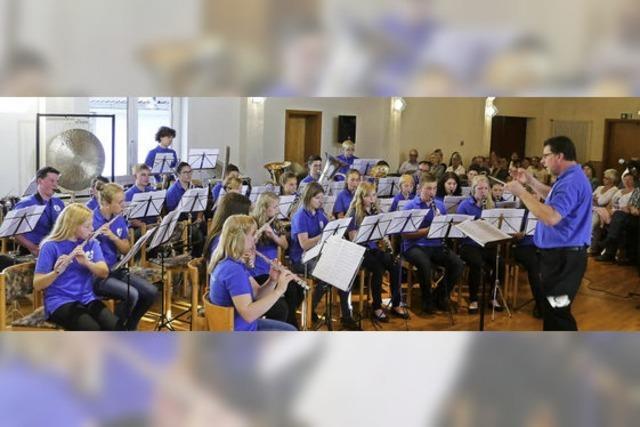Jungmusiker begeistern mit Spiel auf hohem Niveau