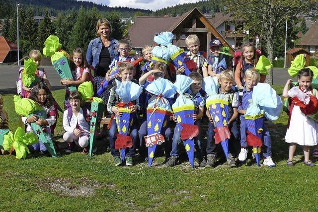 Für 17 Kinder hat der Schulalltag begonnen