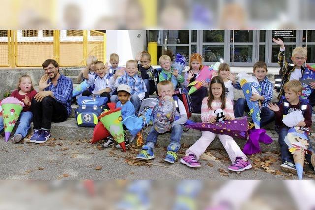 24 Schüler in Außenklassen