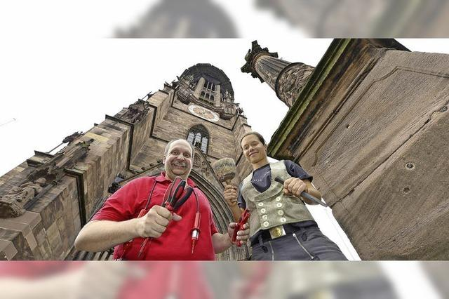 Handwerker und Münster - eine Symbiose wird gefeiert