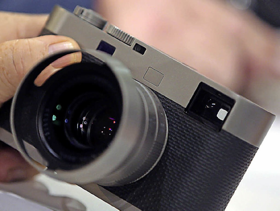 Leica  puristischer denn je: Digitale M  60 ohne  Monitor  | Foto: dpa