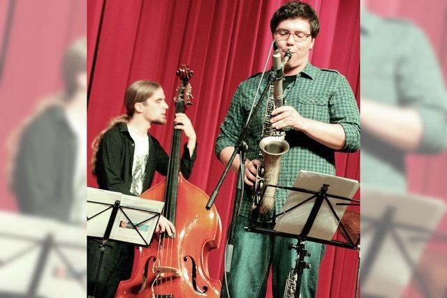 Schüler jazzen, was das Zeug hält