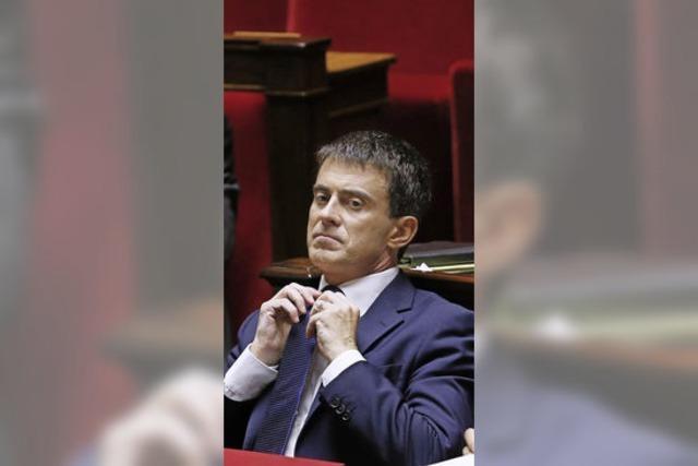 Premierminister Valls: Mit leerem Koffer nach Deutschland