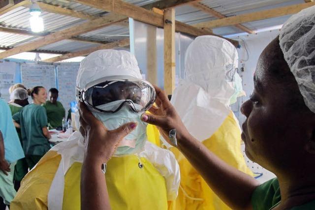 Die Arbeit von Krankenpflegern in Liberia