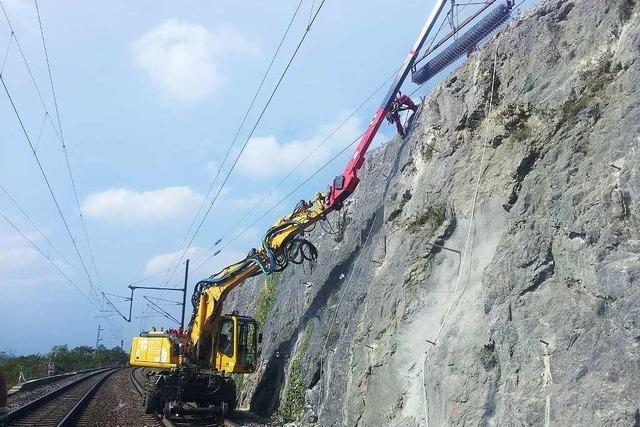 Südliche Rheintalstrecke: Großbaustelle ist fast am Ziel