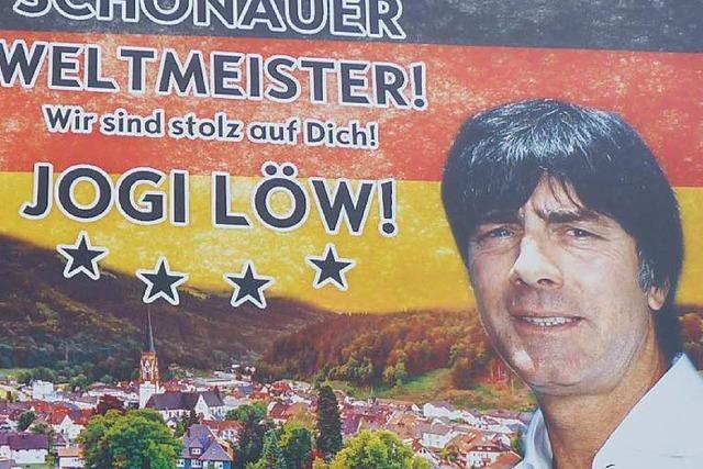 Joachim Löw kommt nach Schönau und wird Ehrenbürger