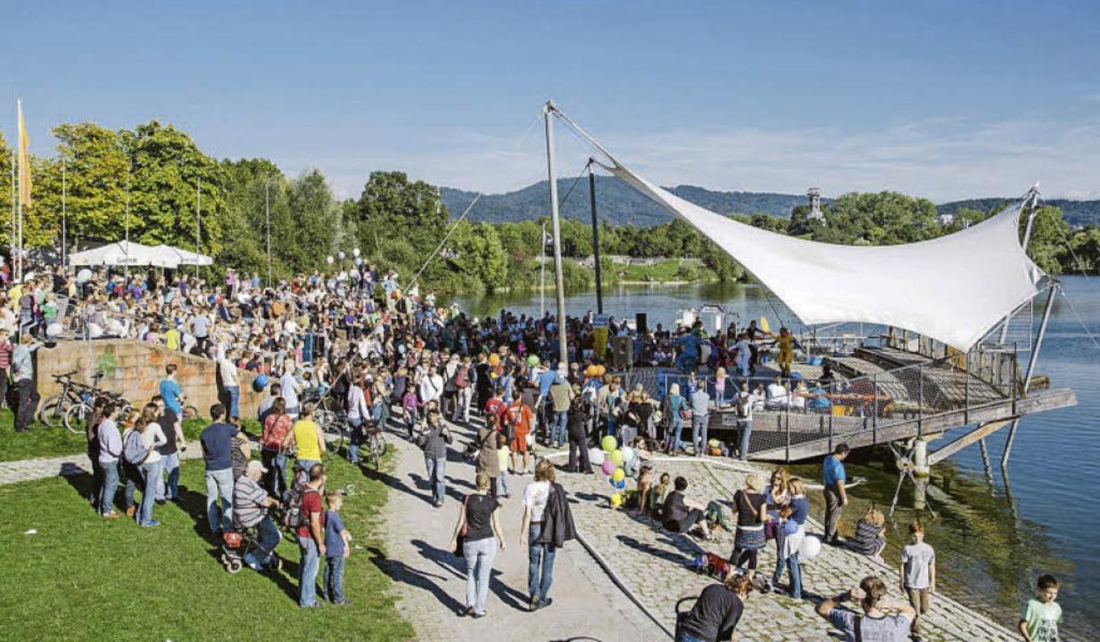 Weltkindertag im Seepark Freiburg    Foto: Fionn Grosse