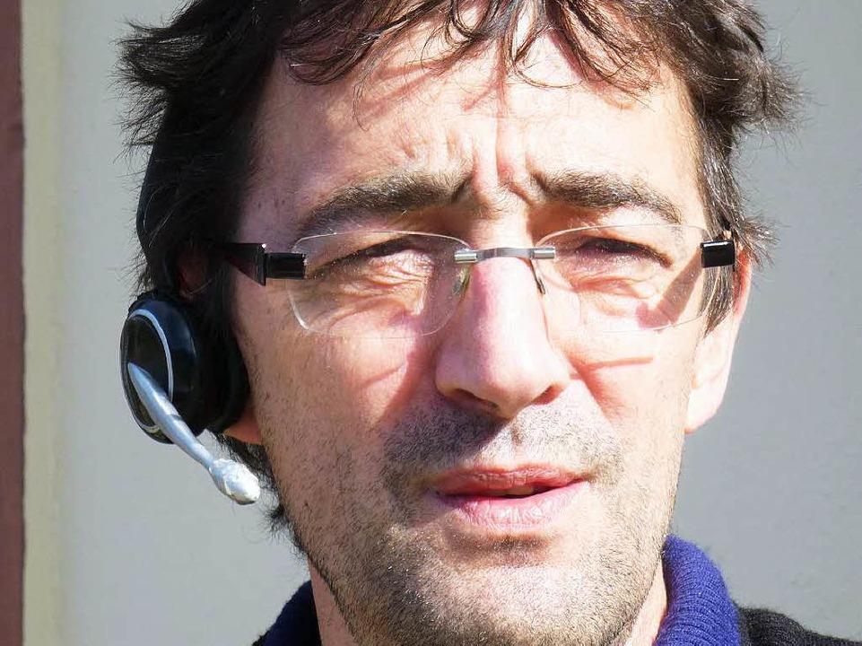 Thomas Binder versuchte gestern telefonisch die Umstände zu klären.    Foto: Peter Stellmach