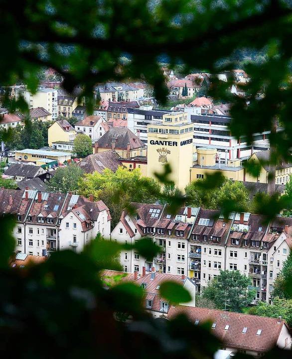 Auch die Pläne für den Ganter-Campus liegen auf Eis.  | Foto: Ingo Schneider