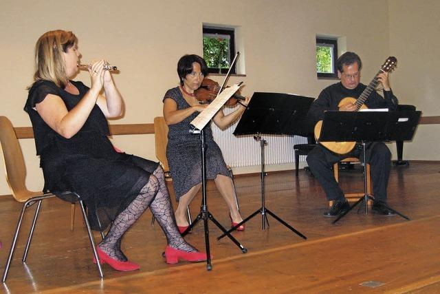 Aufforderung zum Tanze mit dem Trio Cordato