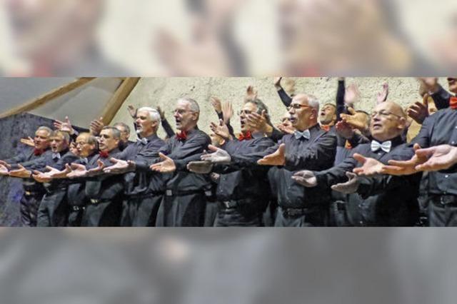 Tanzen, lachen, singen: Oberrieds Sänger haben's drauf