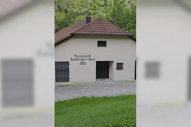 Quelle Riedlinger Bad wird untersucht