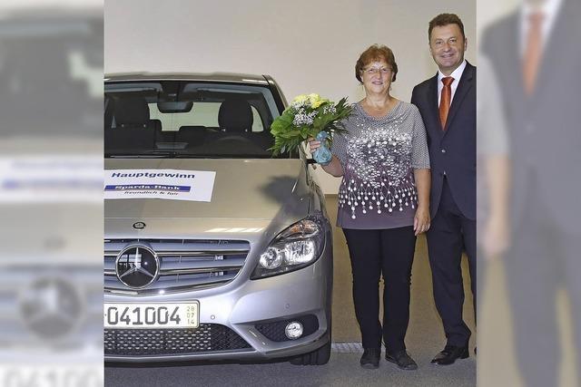 Rita Kiebin fährt jetzt Mercedes