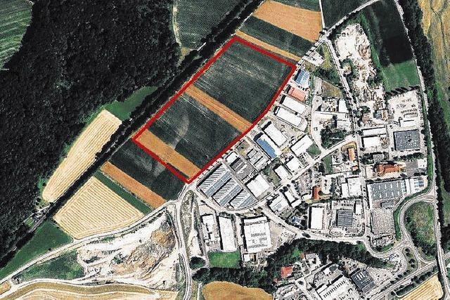 Gewerbegebiet Kaitle wird erweitert