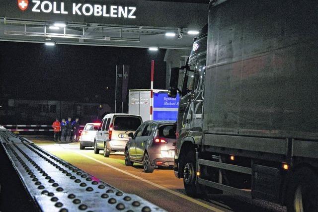 Die Rheinbrücke ist wieder offen