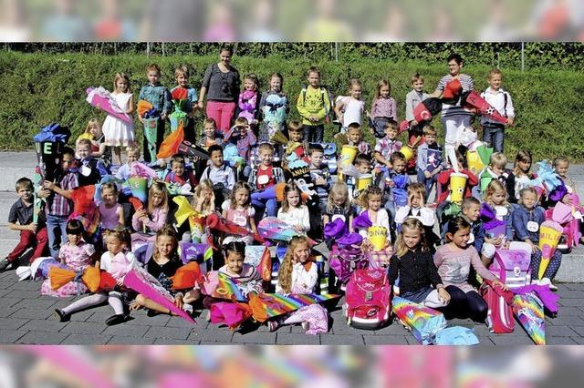 50 neue Erstklässler in Oberrotweil