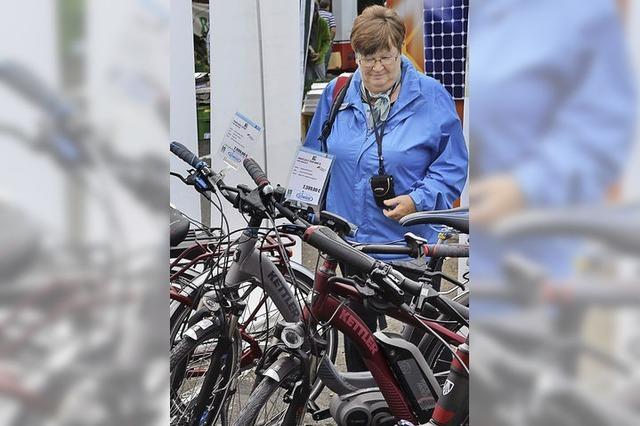 E-Bikes, Solardächer und LED-Leuchten