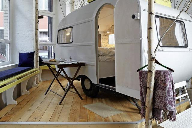 BADISCHE-ZEITUNG.DE: Indoor-camping