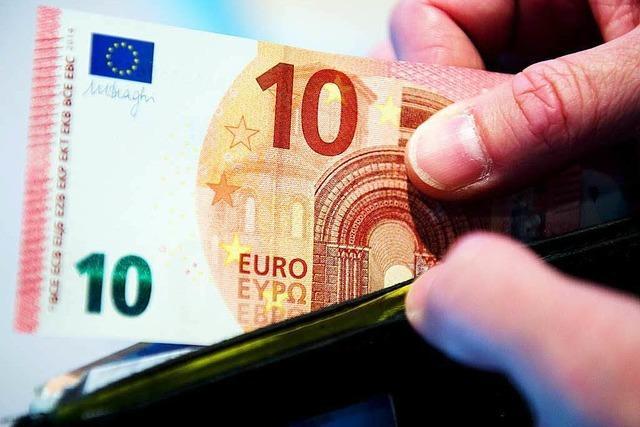 Neuer Zehn-Euro-Schein kommt in Umlauf