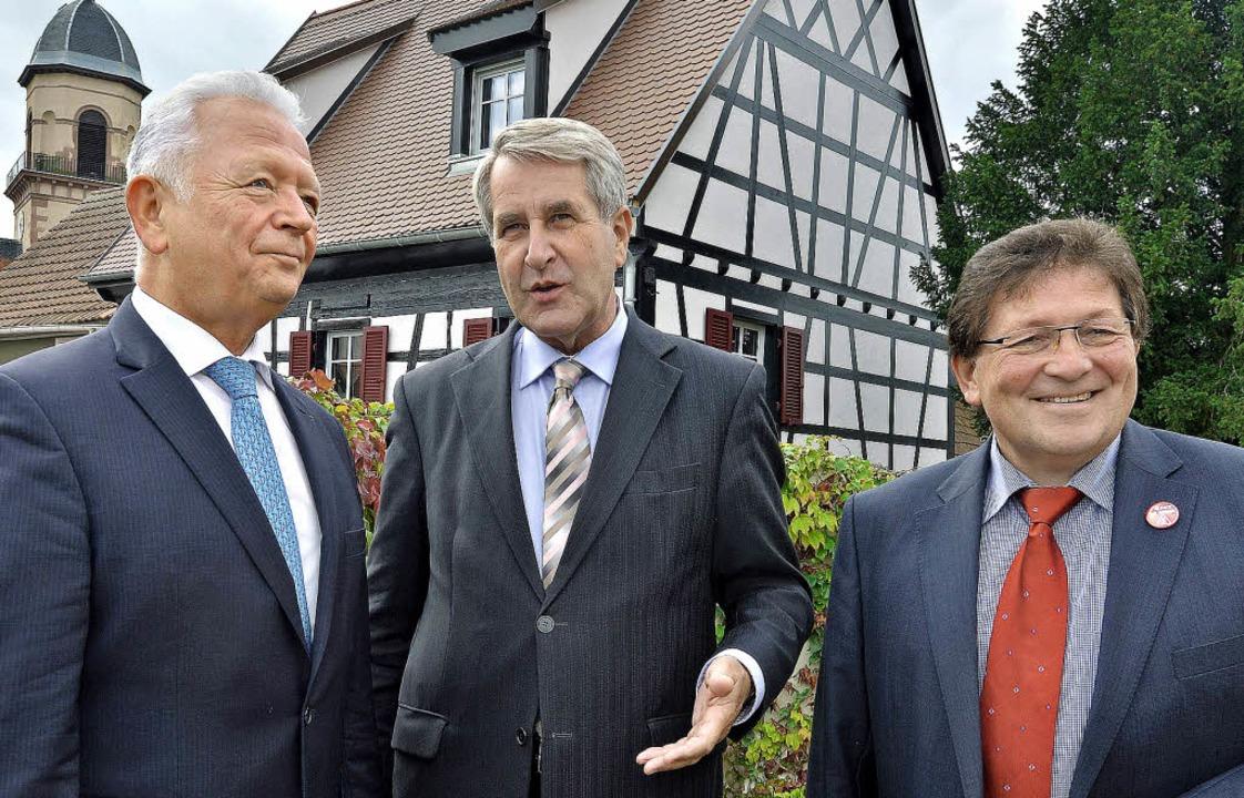 Die Departmentpräsidenten, Charles But...: Das Elsass soll unter sich bleiben.   | Foto: AFP