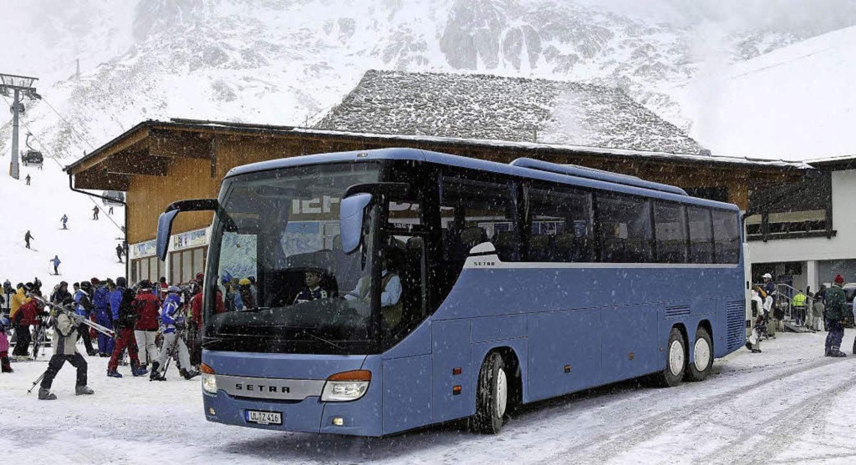 Gesellig und bequem: Skireisen mit dem Bus  | Foto: IBV