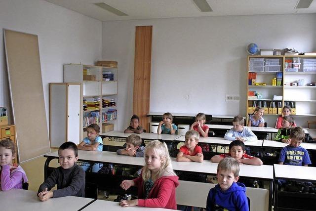 Grundschule in neuen Räumen