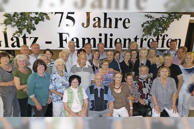 Glatz-Familien aus der ganzen Welt in Reichenbach