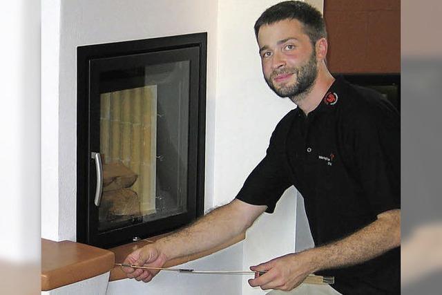 Ausbildungsberuf Ofen- und Luftheizungsbauer: Simon Koger ist ein Fachmann für Wärme