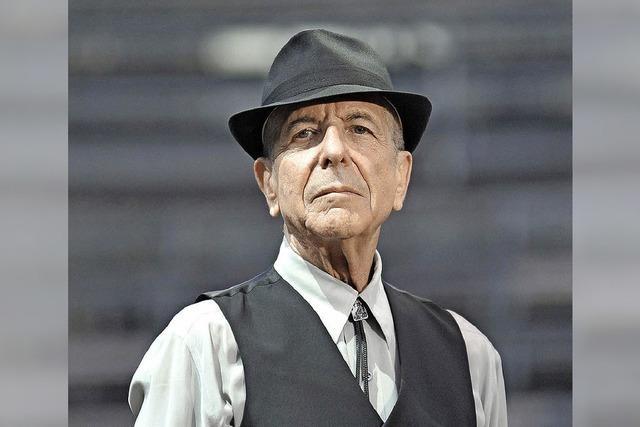 Lesungskonzert zu Ehren von Leonard Cohen
