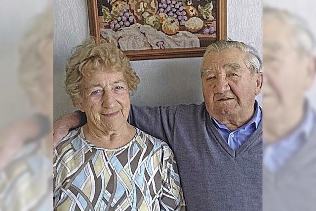 Seit 65 Jahren eisern verheiratet