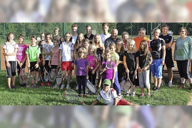 So viele junge Tennismeister