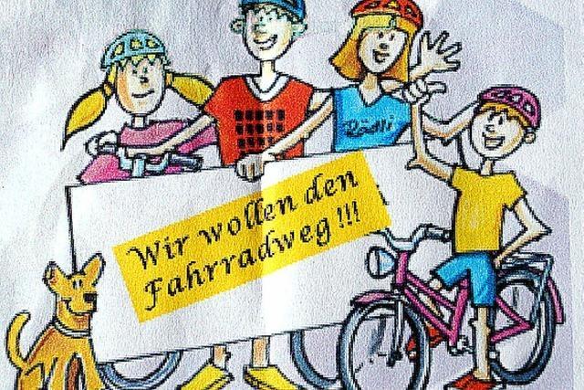 Riedlinger mobilisieren zur Fahrraddemo