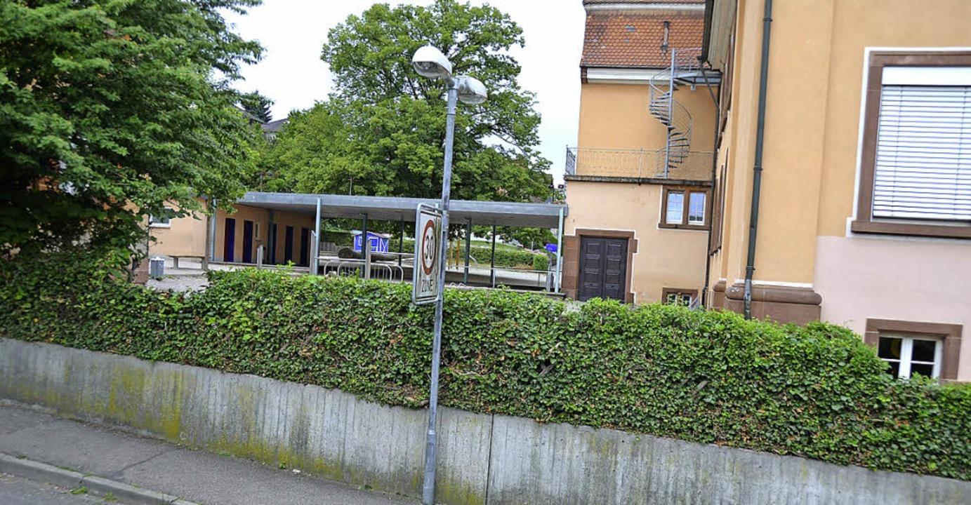 Die Erweiterung der Grundschule wird k...h, wie er sich heute noch darstellt.    | Foto:  WERKGRUPPE LAHR/FOTO: FISCHER