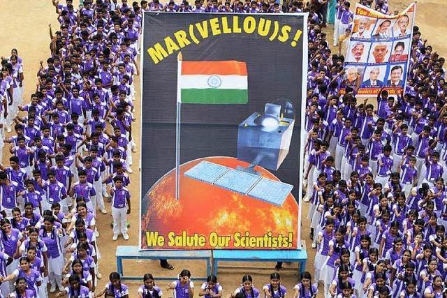 Die Sonde Mangalyaan hat den Mars erreicht