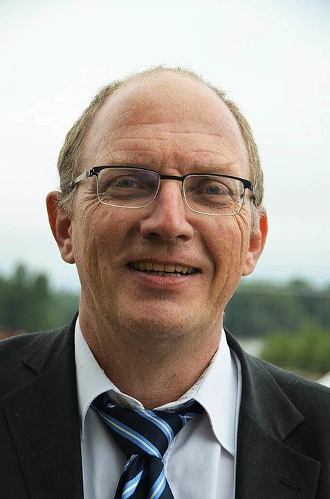 Wolfgang Migenda, Referatsleiter  des ...ums für das integrierte Rheinprogramm.  | Foto: Julia Jacob