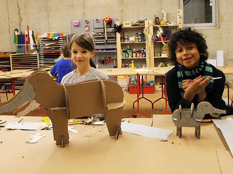 Der Werkraum Schöpflin in Lörrach ist ...mmerworkshops ein Ort der Kreativität.  | Foto: Kristina Wollseifen