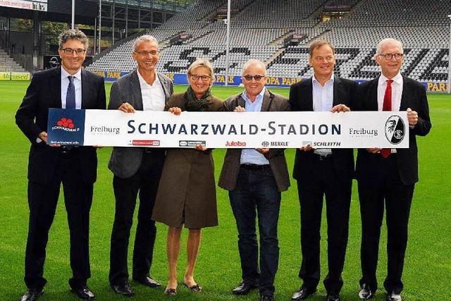 SC Freiburg kickt nun offiziell im Schwarzwaldstadion